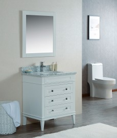 Cetus 30 Inch White Vanity 1