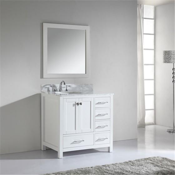 Corvus 36 Inch White Vanity 1