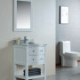 Ariel 24 Inch White Vanity