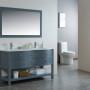 Ariel 60 Inch Grey Vanity