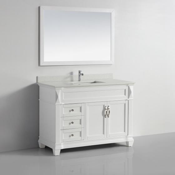 Taurus 48 White Sparkle White Quartz