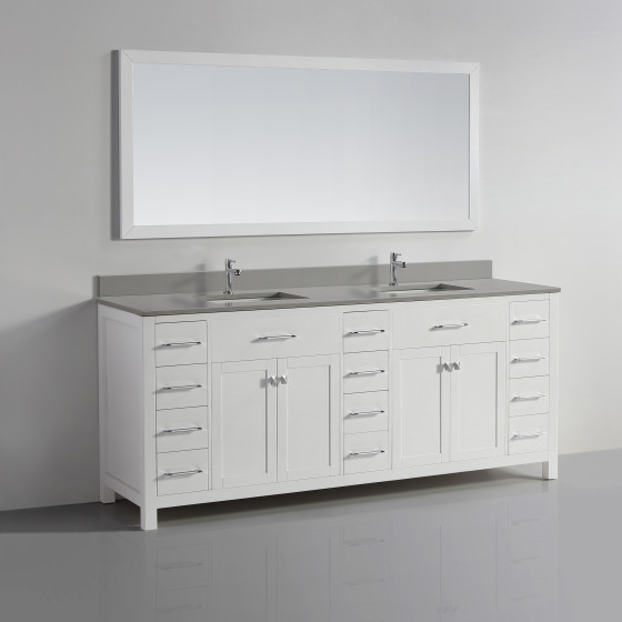 Vigo 78 White Ice Grey Quartz