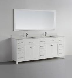Vigo 78 White Sparkle White Quartz
