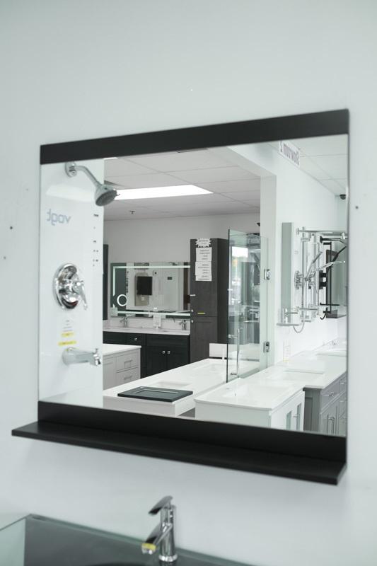 Mirror top bottom frm shlf E